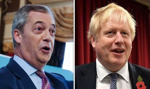 Farage reveals major offer Tories made him just days before Brexit Party election decision