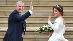 Princess Eugenie just shared a birthday tribute to father Prince Andrew