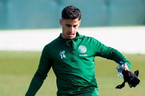 Daniel Arzani shows Celtic fans he's well on course for injury return in training video