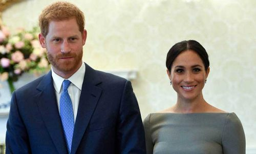 What titles will Prince Harry and Meghan Markle use after stepping back from royal duties?