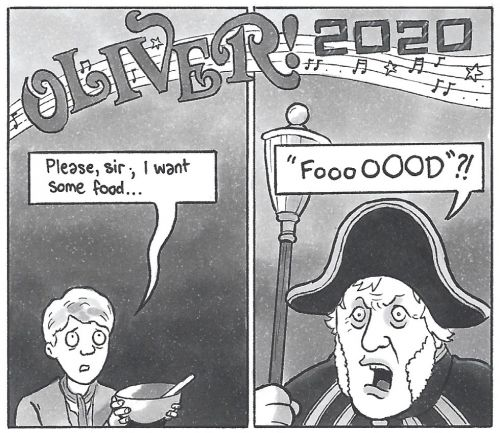David Squires on. Oliver! 2020