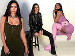 Kim Kardashian and Kylie Jenner look incredible as they attend Givenchy's virtual fashion show