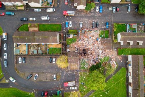 Family of four in serious condition in hospital after Ayr house explosion as blast probe continues