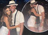 TOWIE's Frankie Sims and Jack Fincham pack on the PDA during loved-up beer garden date night