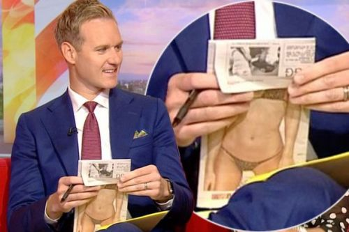 Dan Walker accidentally flashes raunchy snap to stunned BBC Breakfast viewers