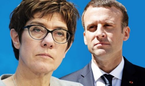 EU CIVIL WAR: Merkel successor REJECTS Macron's reform calls - 'European centralisation!'
