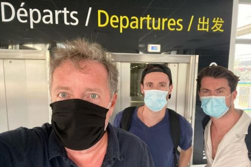 Piers Morgan dashes out of France to avoid quarantine after new travel rules
