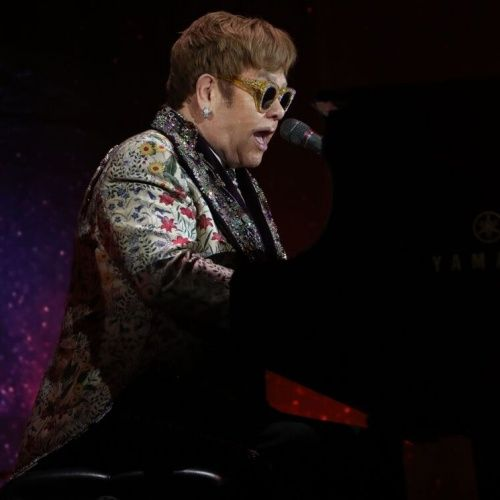 Sir Elton John refuses to play 'Candle in the Wind' in front of Prince William and Prince Harry