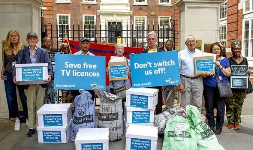 Millions of pensioners lose free TV licence and food deliveries on the same day