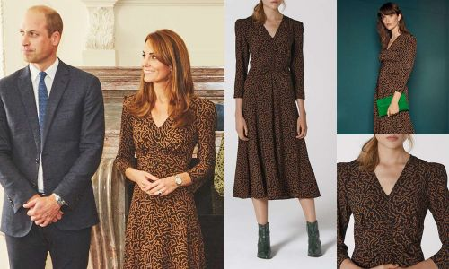 Kate Middleton's new L.K. Bennett dress is PERFECT for that in between autumn weather