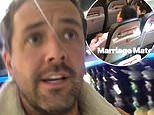 Darren McMullen catches a loved-up couple joining the mile-high club on a Jetstar flight