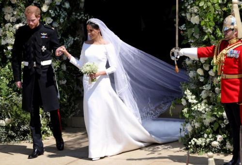 From undercover fittings, baseball cap disguises and just FIVE people in the know: Here's how Meghan Markle kept her stunning wedding dress top secret
