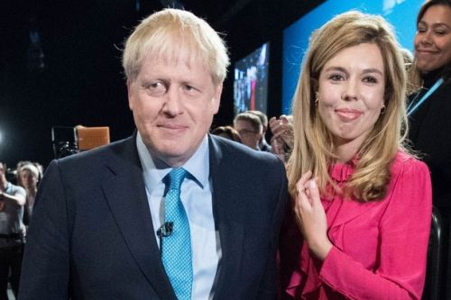 Agony as Boris Johnson's pregnant fiancée unable to be at his side