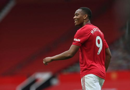 Anthony Martial reveals how Ole Gunnar Solskjaer gave him No.9 shirt back at Man United