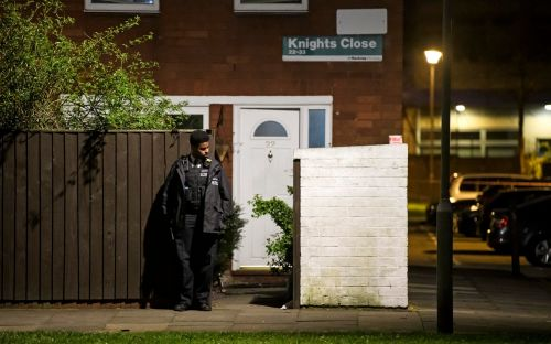 Armed man 'making threats to kill' in a life-threatening condition after being shot by police