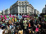 Extinction Rebellion protesters cost taxpayers £15 MILLION in policing costs since April