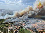 Europe on fire as blazes rage in Turkey, Greece and Italy