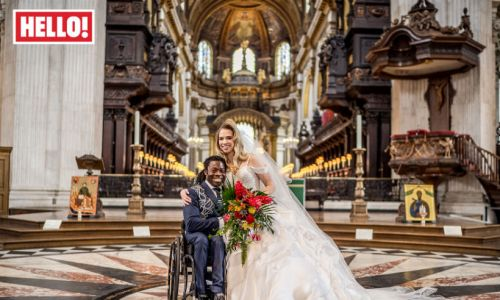 Take a look back at Ade Adepitan and Linda Harrison's stunning St Paul's Cathedral wedding
