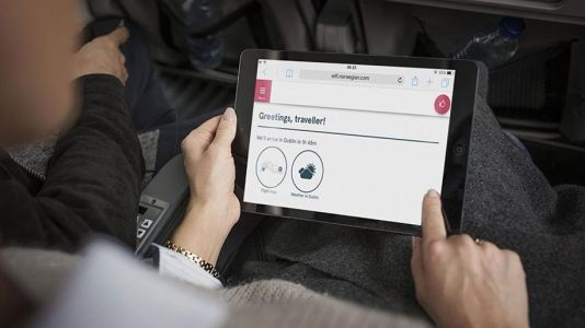 Norwegian launches gate-to-gate wifi connectivity