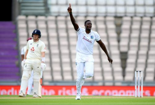 Jason Holder shines in all-rounder battle as West Indies tear through England