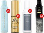 We try before you buy: CLAIRE COLEMAN picks out a selection of the best dry shampoos
