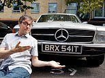 Classic car-loving Remainer is mistaken for Brexiteer over number plate