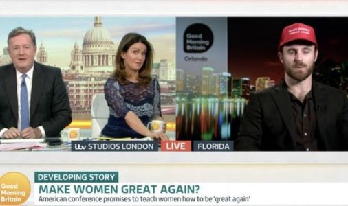 'Women love mansplaining' Row erupts on ITV GMB as guest calls for ABOLITION of feminism