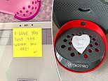 Women share photos of the sweet gestures and notes their partners have left for them