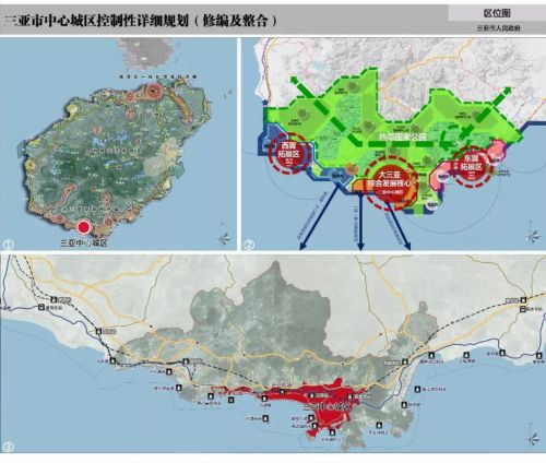 Sanya unveils grand plan to integrate central city area