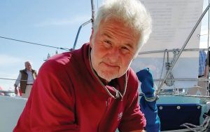 Tony Curphey the man who sailed four times around the world