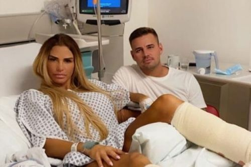 Katie Price faced complications in operation as she shares update from hospital