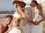 Former MKR starsStacey Allen and friendly pirate Ash Keillah share heartwarming pregnancy pictures