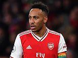 Pierre-Emerick Aubameyang 'pulls out of talks with Arsenal over a contract extension'