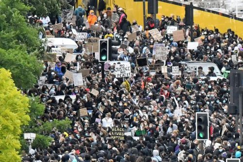 Scots warned to avoid Black Lives Matter mass gatherings amid health fears