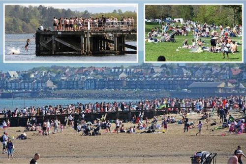 Scotland weather record as Easter Monday temperature hits all-time high