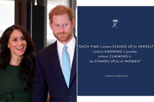 Meghan Markle and Prince Harry apologise for their awkward typo calling it a 'hiccup' in new Instagram post