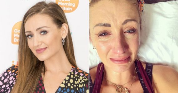 Coronation Street's Catherine Tyldesley breaks down in tears over 'dark days' as mum was in intensive care