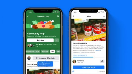 Facebook Kicks Off Season of Giving With US Donation Tool