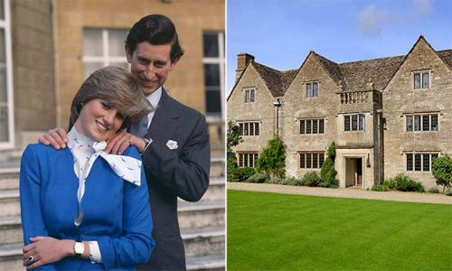 Duchess Camilla's £3.75million home where Prince Charles courted Princess Diana revealed