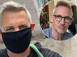 Gary Lineker leaves the house for only the second time in THREE weeks to go to the supermarket