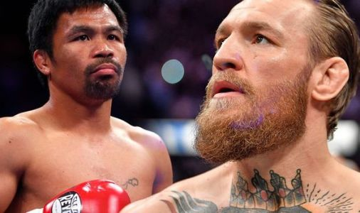 Conor McGregor declares he will fight Manny Pacquiao NEXT in Middle East boxing return