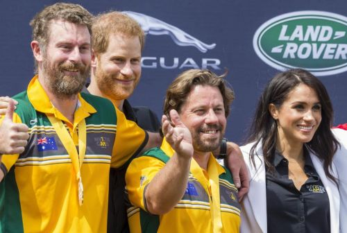 Invictus Games opening ceremony delayed by tropical thunderstorm over Sydney Opera House as Harry and Meghan meet athletes