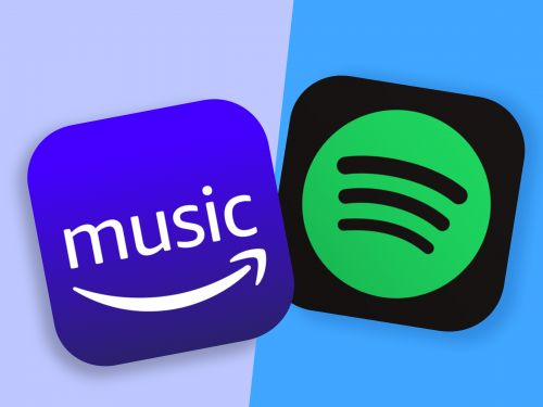 Amazon Music and Spotify both offer a huge selection of songs, but Spotify's personalization features make it a better fit for most people
