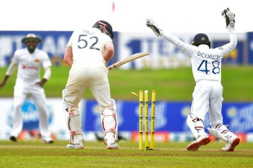 Sri Lanka v England 1st Test: England within striking distance of opening win