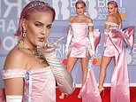 BRITs 2020: Anne-Marie wows with GIANT bow train