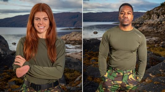 Celebrity SAS: Who Dares Wins are celebrating as Lauren and Locksmith both pass the course