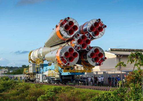 Live coverage: Soyuz rocket set for launch from French Guiana