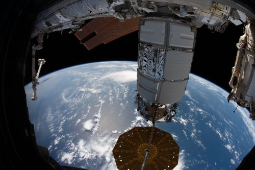 Cygnus departs space station, beginning extended experimental mission