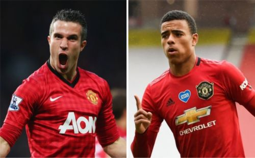 Robin van Persie reacts to Mason Greenwood comparisons after brace for Manchester United