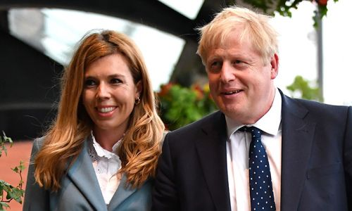 Boris Johnson's fiancée Carrie Symonds has coronavirus symptoms